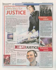 Media coverage for Dance for Justice