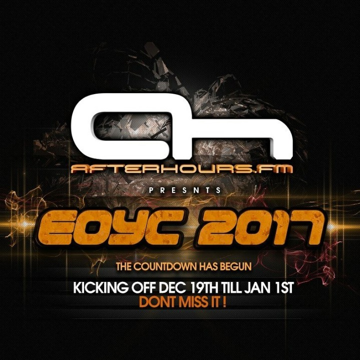 Official logo for Afterhours FM EOYC 2017