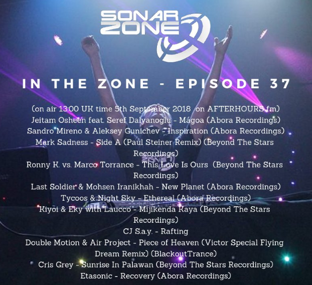 Episode 037 - In the Zone