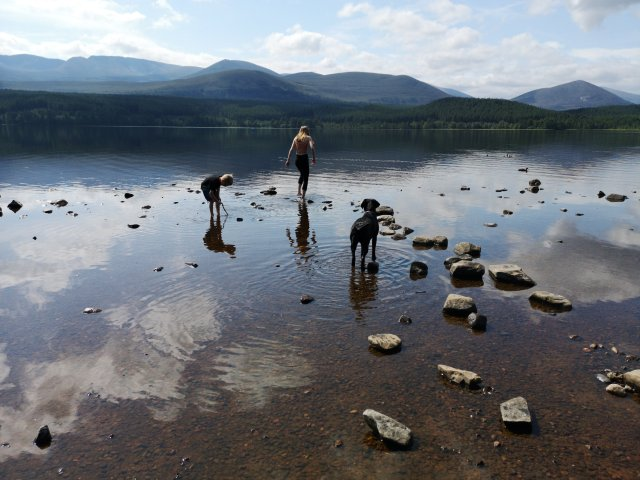 Photo of Loch Morlich